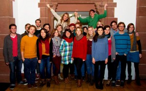 Wir, die Fachschaft Politik, im Wintersemester 2012/13. Viel junges Gemse ist dabei.